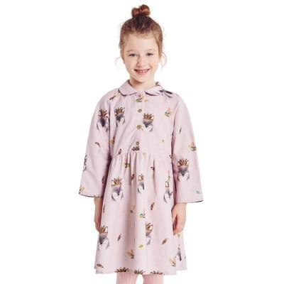 Patron katia K16 - Robe en popeline couture fille enfant