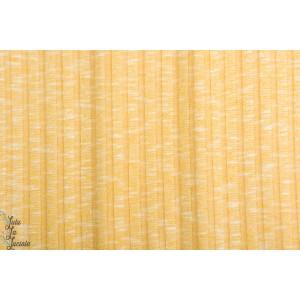 jersey Ripstick Chiné jaune