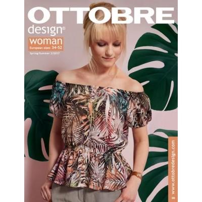 Magazine OTTOBRE Design Woman 2/2017 femme patron couture
