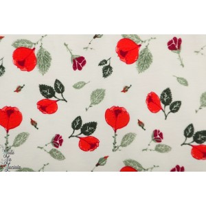 Jersey Bio Cpauli Rosen Rosa rose fleur rouge