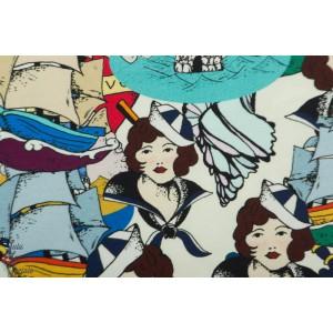 Jersey bio Haute Qualité Seawoman femme mer marin cpauli