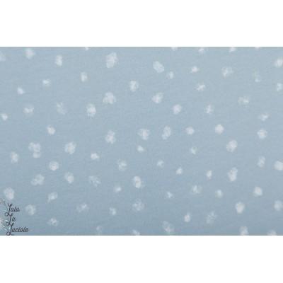 Summersweat bio Eisbaren Kombi lillestoff bleu neige pois