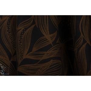 Modalsweat Copper Lillestoff enemenemeins soirée mode femme feuille graphique
