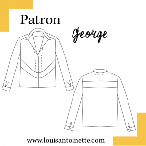Patron top George Louis et Antoinette