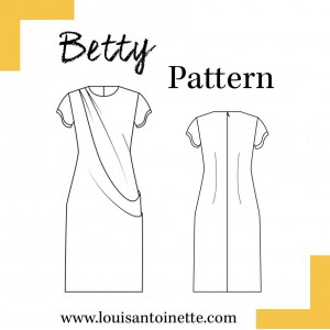 Patron Robe Betty louis Antoinette
