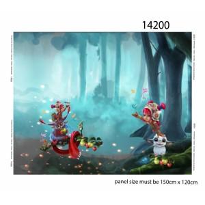 Panneau jersey Elfes en folies STENZO
