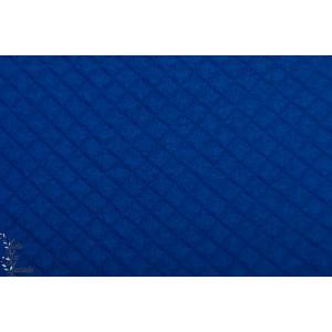 Sweat Bio matelassé royal Bleu Lillestoff