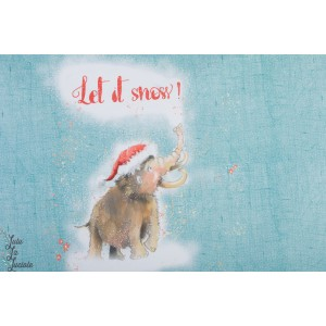 Let is Snow summersweat bio Lillestoff mamouth noel enfant
