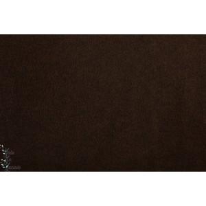 Super Polaire Chinée maron foncé épaisse chaude douce qualité hilco