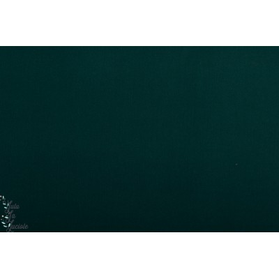 gabardine Uni dulce Dunkelgreen Hilco coton sergé