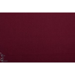 gabardine Uni dulce Weinrot Hilco violet coton serge strech