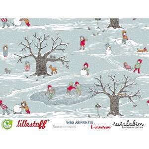 Bellas Jahreszeiten, der Winter, Susalabim Sumersweat Bio Lillestoff