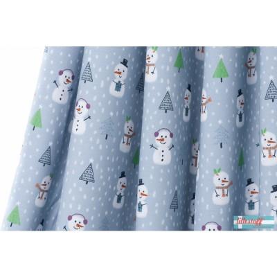 Little Snowmans Christmas, Summersweat bio lillestoff noel bonhomme de neige enfant