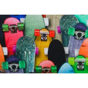 Jertsey Digital Keep it rolling skate biard Poppy