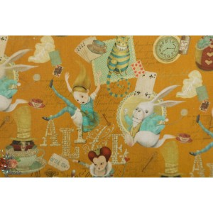 popelne Digital Alice in Wonderland  alice merveille lapin poppy