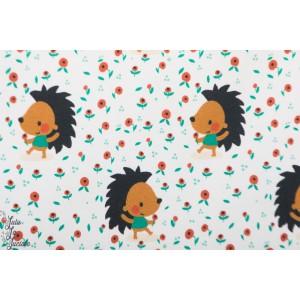 Summersweat bio Dotty hedgehog Lillestoff Bora
