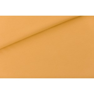 Sweat uni french terry SYAS Honey Yellow Soft Cactus jaune