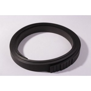 bande de 2cm sur 145cm de SNAP PAP noir