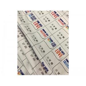 panneau Jersey Lille Label Etiquettes conditions de lavage