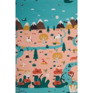 panneau Summersweat Fairyland Lillestoff Bora