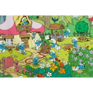jersey Smurfette's garden Vintage in my Heart Schtroumpfs nostalgiques