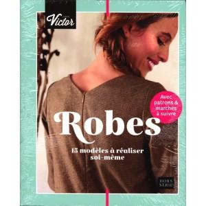Livre Maison Victor ''robes 15 modeles Hors série en Français patron couture femme