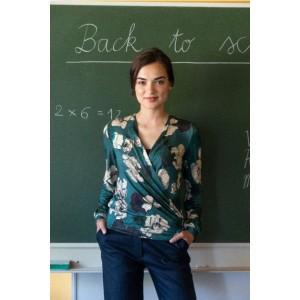 Patron Blouse Sofia Maison victor couture femme cache coeur