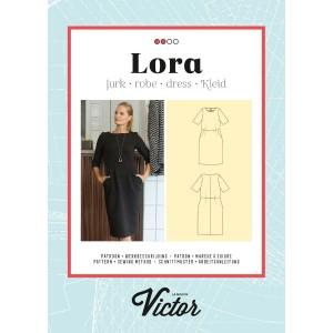 Patron Maison Victor Robe Lora couture mode femme