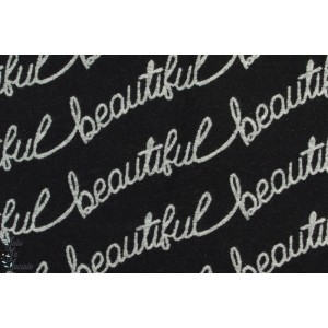 Kuscheljacquard ''Beautiful'' Lillestoff