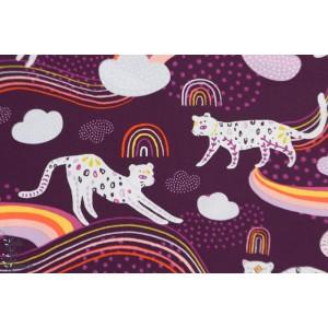 Popeline AGF Rainbow Jaguar - Kushukuru -