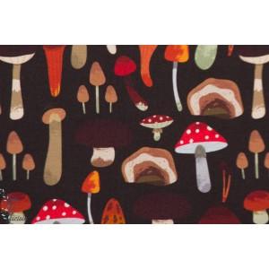 Jersey Bio SVAMP Brun by Ernst champignon retro maron bois autonne