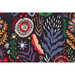 Jersey Bio Naima Smart by Ernst fleur couleur retro noir