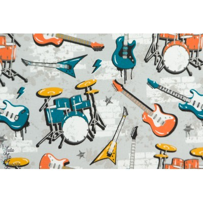 jersey bio Stoffonkel Music ado guitare batterie musique rock