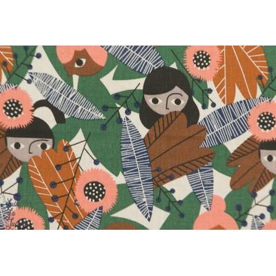 Coton Lin Clooud9 Wild Wonder from plant peeps femme feuille ethnie