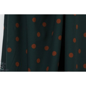 Viscose Strech Dots Teal- Mind The Maker
