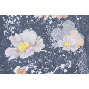 Modalsweat Winterblumen Lillestoff