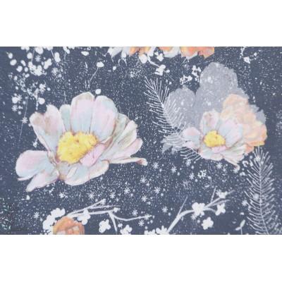 Modalsweat Winterblumen Lillestoff fleur hiver mode femme