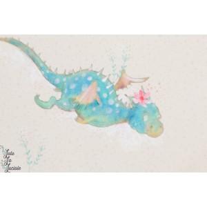 Summersweat bio Die Kleine Drachenflüsterin Lillestoff