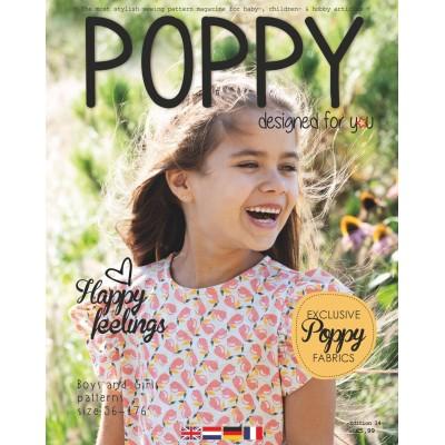 Magazine Poppy Edition 14 patron couture enfant