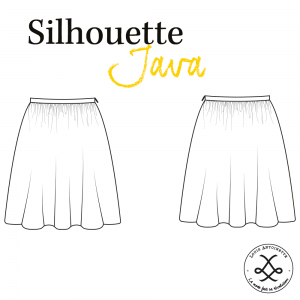 Patron La Jupe JAVA femme mode couture louis et antoinette
