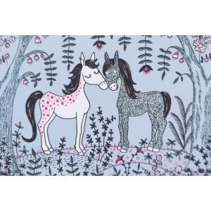 """Summersweat bio Pferdeliebe Lillestoff SUSAlabim """"Amour de cheval"""" poney"""
