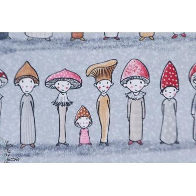 Summersweat bio Pilzfreunde Lillestoff champignon enfant susalabim