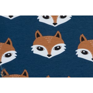 Sweat Bio Elliot dark Blue Tygdrommar renard fox enfant animaux
