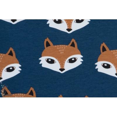 Sweat Bio Elliot dark Blue Tygdrommar renard fox enfant animaux