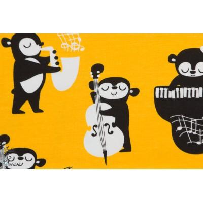 Jersey Bio Rhythm Pappi sun jaune musicien enfant piano