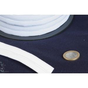 Elastiques boutonnière 20mm Blanc