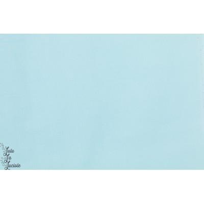 velours Bio cloud9 Bleu ciel milleraie