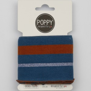 Bord cote cuff poppy 6564 lurex06