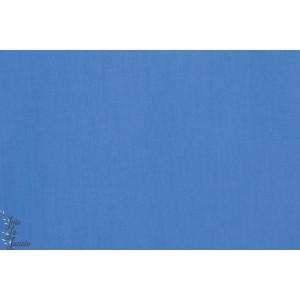 Popeline unie bio Komblumenblau Lillestoff