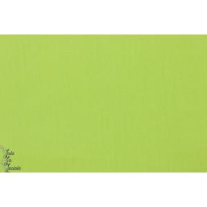 Popeline Bio Unie Lime Lillestoff